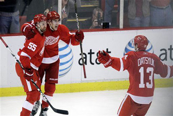 Datsyuk delivers another goal