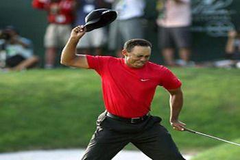 Golf Legend Tiger Woods