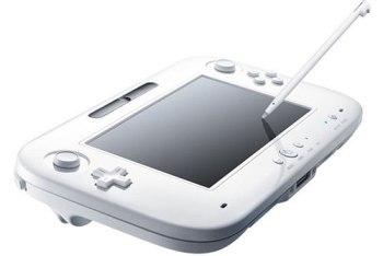 Nintendo Wii U controller and stylus