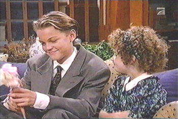 Leonardo DiCaprio played Luke, a homeless boy, in Growing Pains.