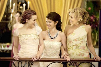 The girls go from rags to riches when Grace (Gomez) is mistaken for an heiress