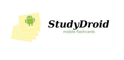 StudyDroid lets you make unique cue cards