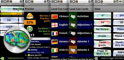 Learn languages using CueBrain