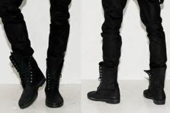 Military-inspired Boots