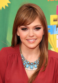 Aimee at the Teen Choice Awards
