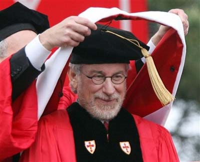 Steven Spielberg has both an honorary and real university degree