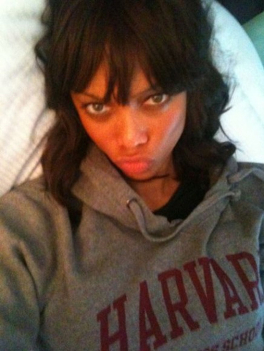 Tyra Banks lived in a dorm at Harvard
