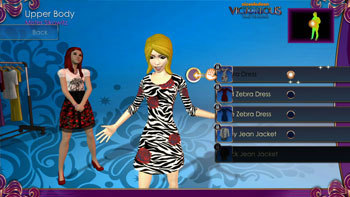 Customize Zebra Dress