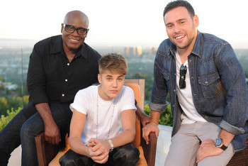 Justin Bieber and his manager will help L.A. decide who makes the cut