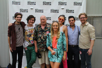 Sheppard recently toured the U.S. and many more countries, here they are in N.Y.