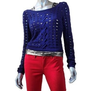 Rock and Republic distressed sweater
