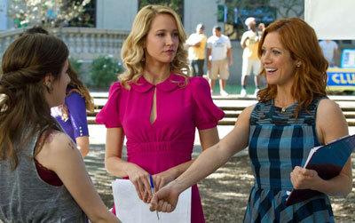 Beca meets Aubrey and Chloe