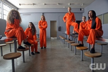 The Models Pose As Prisoners