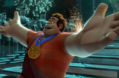 Ralph with his hero medal