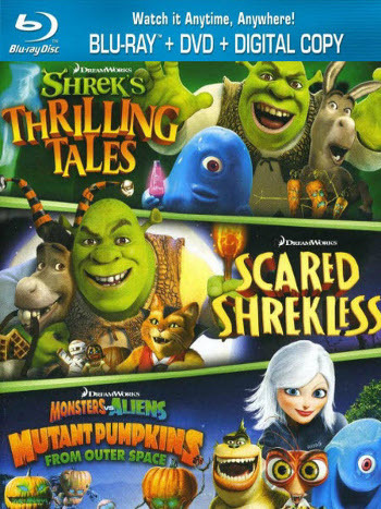 Dreamworks Spooky Stories is out in time for Halloween!
