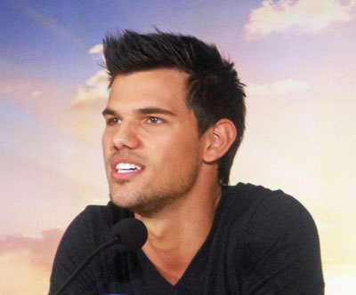 Taylor Lautner at the interview
