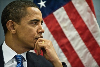 Democrat Barack Obama will try to hold his title