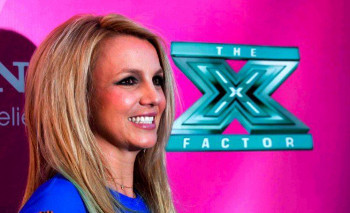 Britney Spears is a judge on The X Factor US
