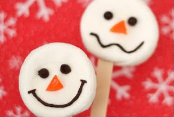 Sugary Sweet Snowmen