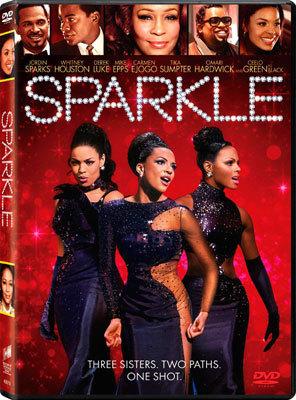 Sparkle DVD cover art