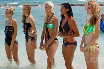 The Top 5 Girls Pose in Cedella Marley's Swimsuits