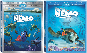 The 5-Disc Ultimate Collector's Edition of Finding Nemo is now available in stores now