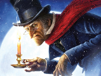 Bah Humbug! Ebenezer Scrooge doesn't believe in Christmas!