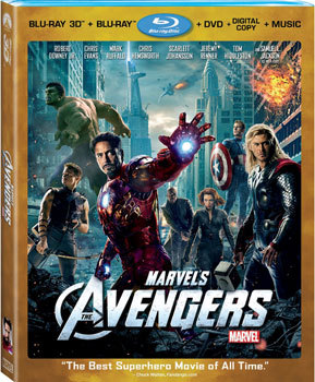 Avengers DVD