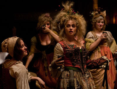 Helena Bonham Carter as innkeeper