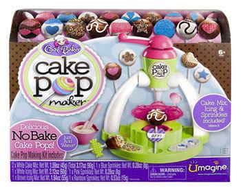cool baker cake pop maker toy review. Black Bedroom Furniture Sets. Home Design Ideas