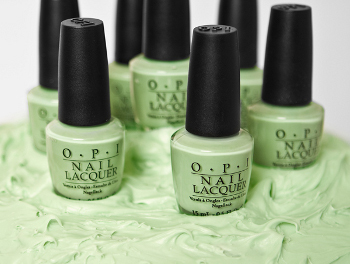 pistachio polish: fresh and fun!