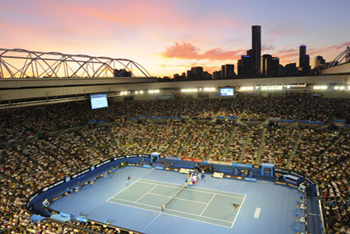 Courtesy of the Australian Open