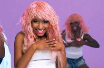 """""""Boom Ba Doom Doom"""" is the sound your heart makes when you see your crush (according to Nicki)"""