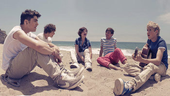 One Direction are topping charts and stealing hearts