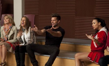 Ricky Martin is here to show McKinley what Spanish music is all about