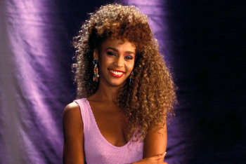 Whitney had seven consecutive #1's with her debut album!