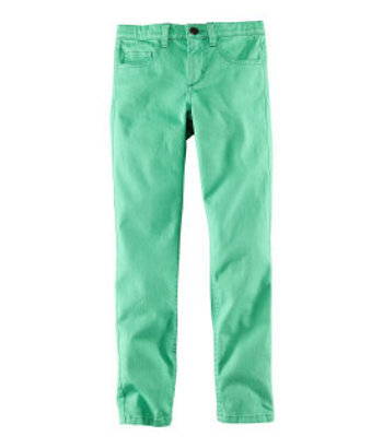 Green jeans, $19.95 at H