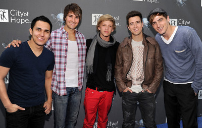 Cody with Big Time Rush