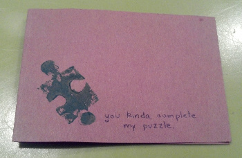 Make Homemade Cards with Your Very Own Stamp