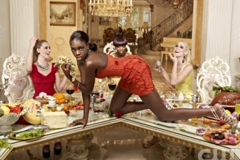 The Top Models Posing as Art Installations