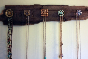 Use Cool Doorknobs to Hang Your Necklaces