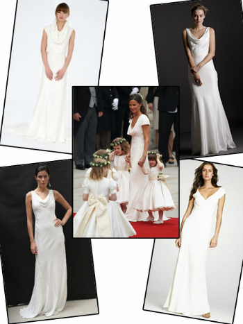 Pippa Middleton inspired dresses... for the Princess