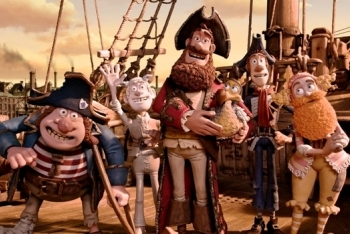 Pirate Captain and His Crew