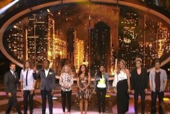 The Top 8 of American Idol 2012