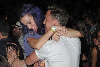 Katy Perry and Robert Ackroyd