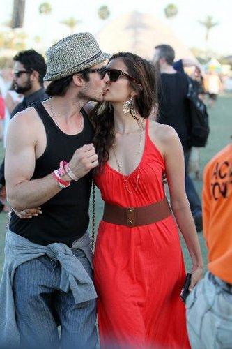 Vampire Diaries stars Nina Dobrev and Ian Somerhalder