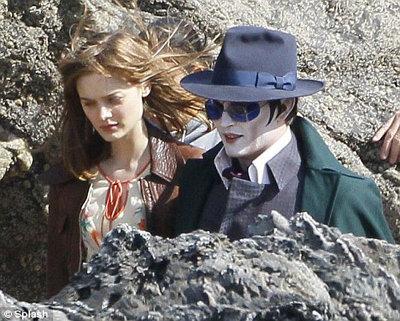 Barnabas strolls with love Victoria (Bella Heathcote)