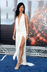 Rihanna at L.A. premiere