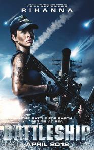 Rihanna on movie poster