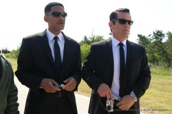 Will as MIB Agent J
